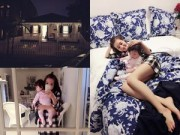 Nhà đẹp - Con gái Elly Trần tròn mắt trước nhà sang ở nước ngoài