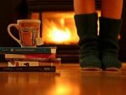Nhà đẹp - Nóng bừng phòng ngủ gỗ cho mùa đông không lạnh