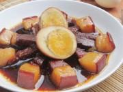 Bếp nhà tôi  - Thịt kho trứng đơn giản mà đưa cơm