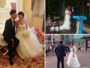 Tình yêu - Giới tính - Top những đám cưới... kì cục nhất năm