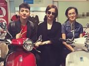 Làng sao - Angela Phương Trinh sắm xe máy tặng mẹ dịp Noel