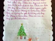 Giáo dục - Những điều ước ứa nước mắt của trẻ gửi ông già Noel