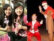 Làng sao - Chiều Xuân khoe con gái, Hùng Cửu Long phát quà Noel