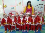 Tin tức - Trường mầm non, tiểu học tưng bừng đón Noel