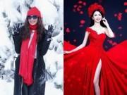"""Làng sao sony - Khánh My làm """"cô bé mùa đông"""", Phan Thị Mơ như """"nữ thần"""""""
