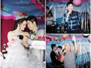 """Làng sao - Quang Hà, Quốc Thuận """"quậy tưng"""" trong đám cưới Nhật Kim Anh"""