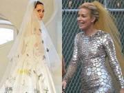 Thời trang - Tuyển tập váy cưới đẹp lung linh của sao Hollywood 2014