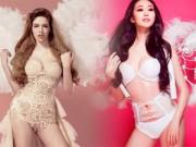 """Thời trang - Sao Việt xấu - đẹp khi tập tành làm """"thiên thần nội y"""""""