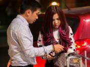 Làng sao - DJ Thúy Khanh bị giật túi xách trên đường ra sân bay