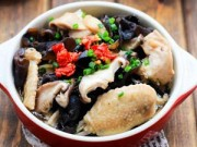 Bếp Eva - Gà hấp nấm cho bữa ăn đầm ấm