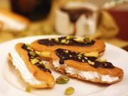 Bếp Eva - Bánh Éclair nướng nhân kem ngọt trong giòn ngoài