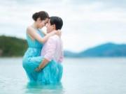 Tình yêu - Giới tính - Chú rể bị thương vẫn liều ngâm nước chụp ảnh cưới