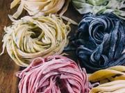 Bếp Eva - Làm mì Ý tươi nhiều màu tại nhà