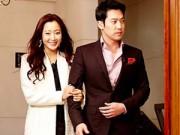 Làng sao - Ông xã Kim Hee Sun bảnh bao đi ăn cùng vợ