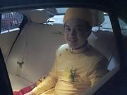 Làng sao - Tuấn Khải đến rước cô dâu Lê Khánh từ sáng sớm
