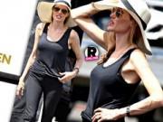 Làng sao - Angelina Jolie gầy trơ xương vì nhịn ăn để làm phim