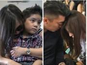 Tin tức - Chùm ảnh: Thân nhân hành khách QZ8501 khóc nấc ngóng tin