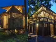 Không gian đẹp - Những ngôi nhà tre mộc mạc ở quận Hoàn Kiếm, Hà Nội