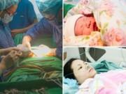 Bà bầu - Vào phòng đẻ xem trực tiếp ca sinh mổ của mẹ Việt