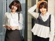 Thời trang - Những kiểu áo sơ mi tuyệt đẹp cho mùa đông