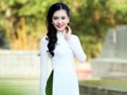 Thời trang - Top 5 HHVN 2014 đẹp dịu dàng trong tà áo dài