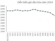 Mua sắm - Giá cả - Năm 2014: Giá xăng dầu điều chỉnh kỷ lục 24 lần