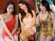 Thời trang - Người đẹp khổ sở vì váy đầm gợi cảm