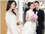 Thời trang - Váy cưới đẹp như mơ của sao Hoa ngữ năm 2014