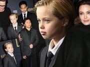 Làm mẹ - Vẻ nam tính khó tin của con gái Angelina Jolie và Brad Pitt
