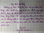 Tin tức - Bức thư đáng suy nghĩ: 'Con nhờ thầy xử bạn giùm con'