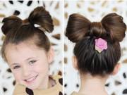 6 kiểu tóc xinh cho bé đi chơi Tết dương lịch 2015