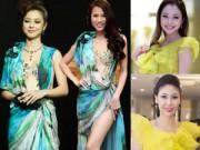 Thời trang - 1001 pha đụng độ của Jennifer Phạm với mỹ nhân Việt