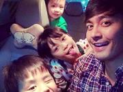 """Làm mẹ - MC Phan Anh: """"Các con tôi đều đã ăn roi của bố"""""""