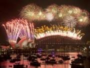 Tin tức - Màn trình diễn pháo hoa tuyệt đẹp ở cầu cảng Sydney