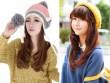 Những kiểu tóc xinh yêu phối cùng mũ len đi chơi tết