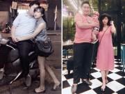Làm mẹ - Cặp đôi bố 100kg, mẹ 40kg kể chuyện chăm con đầu lòng