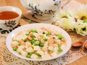 Bếp Eva - Đậu hũ sốt tôm đơn giản, trôi cơm