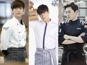 Làng sao - Những bếp trưởng mỹ nam gây sốt màn ảnh