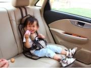 Làm mẹ - Cách ngồi an toàn nhất trên xe ô tô cho trẻ nhỏ