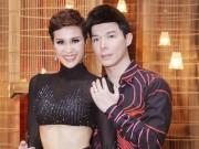Làng sao - Nathan Lee quấn quýt Phương Mai không rời tại sự kiện