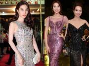 Làng sao - Diễm My 9X diện váy xuyên thấu nổi bật giữa dàn Hoa hậu