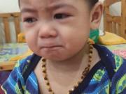 Làm mẹ - 'Đốn tim' với cậu bé mắt to bị mắng dứt khoát không khóc