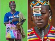 Thời trang - Tròn mắt vì bộ tộc Châu Phi mê đọc Vogue, nghiện thời trang