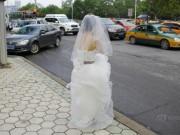 Eva Yêu - Tắc đường, cô dâu không thể đến dự lễ cưới của mình