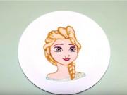 Bếp Eva - Ngỡ ngàng nghệ sĩ làm bánh pancake hình Elsa siêu đẹp