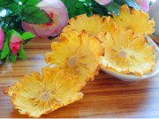 Bếp Eva - Làm mứt dứa sấy đẹp như hoa