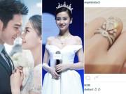 Làng sao - Huỳnh Hiểu Minh đặt vương miện tặng Angela Baby