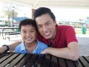 Làng sao - Lam Trường hạnh phúc khi con trai ngày càng khôn lớn
