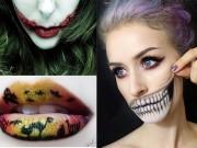 Làm đẹp - 9 bí kíp vẽ môi đêm Halloween ấn tượng nhất