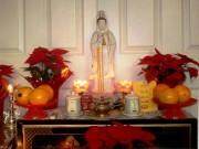 Nhà đẹp - Bày tượng Phật xua điềm dữ, đón vận may
